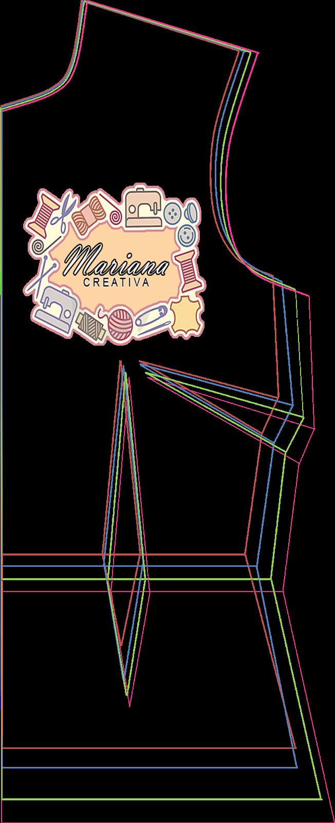 Mariana Creativa: Patrones bases multi talla XS, S, M y L ...