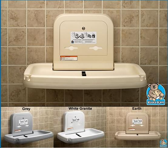 Kb200 Koala Horizontal Baby Changing Station Specifications 22 H X 35 W X 4 D Depth Open 22 5 The Baby Changing Station Baby Changing Changing Station