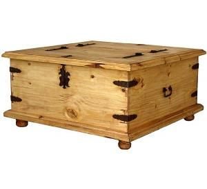 Trunk Mexican Rustic Pine Coffee Table Pine Coffee Table Rustic