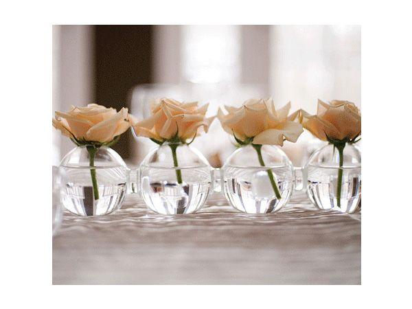 Centros mesa boda sencillos decoracion y centros de mesa for Adornos d mesa para boda