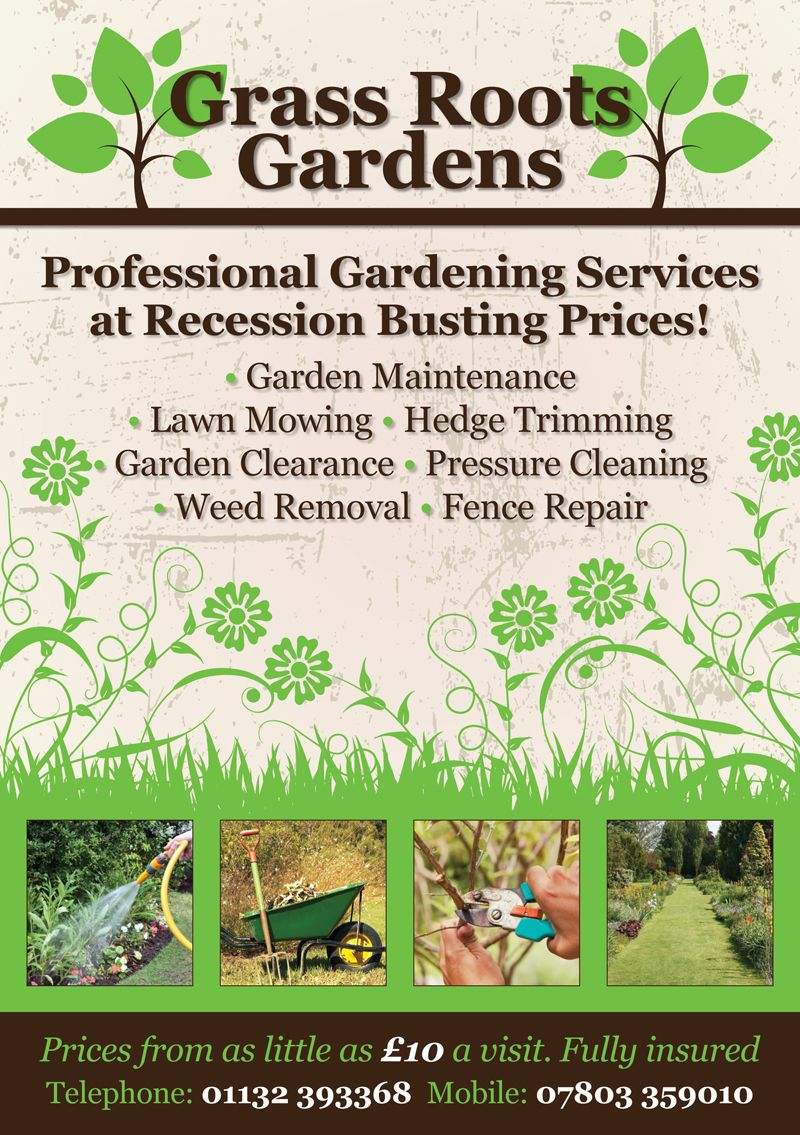 gardening flyer design by flyer designers co uk gardening flyer design by flyer designers co uk gardeningflyers