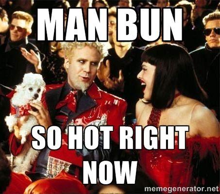The Most Glorious Man Buns On Instagram Man Bun Today Meme Funny Meme Pictures