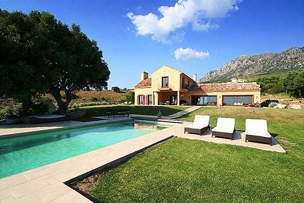 Casa de las Estrellas in Casares, Andalucia, Spain.  BEAUTIFUL!