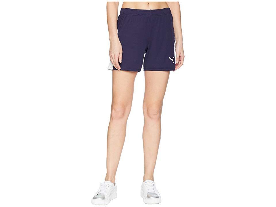 PUMA Liga Shorts PeacoatPuma White Womens Shorts Take your training up a level in the PUMA LIGA Training Shorts PUMA Performance apparel combines technical fabrics and er...