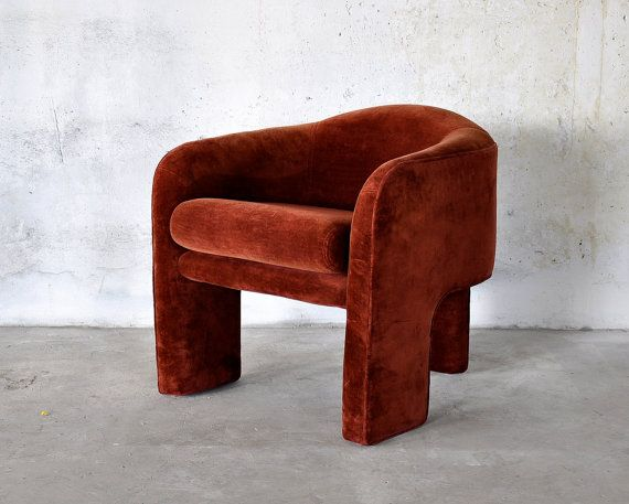 Attrayant 1970s Mid Century Modern Retro Lounge Chair Attributed To Vladimir Kagan  For Weiman Preview Vintage Tripod Club Chair