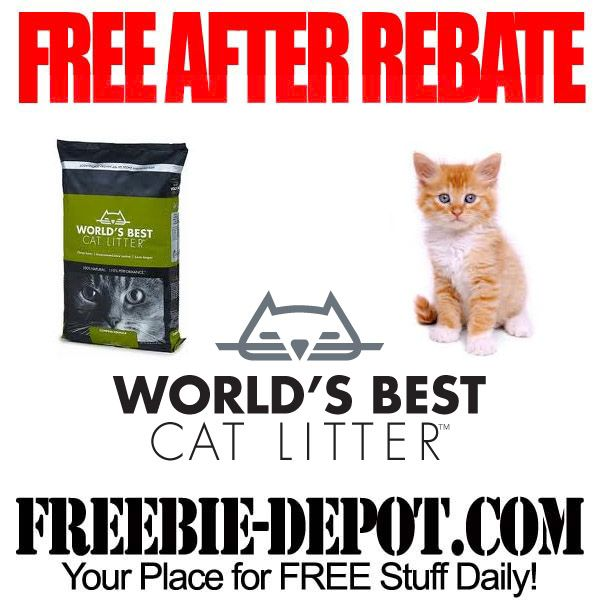 Free Cat Litter Exp 12 31 Cat Litter Free After Rebate Free Cats