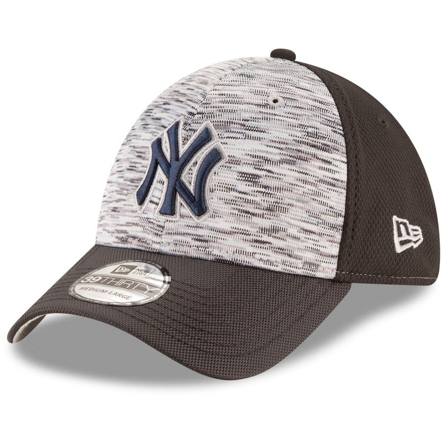 2d5d6930a Men's New York Yankees New Era Graphite/Black Shadow Faded 39THIRTY Flex Hat,  $25.99