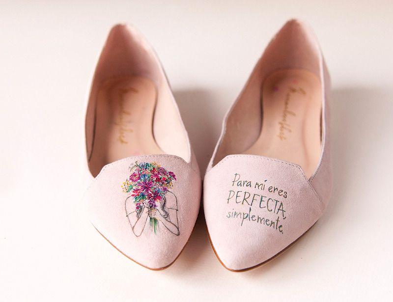 Zapatos pintados a mano edición limitada para el Día de la Madre de Marian Loves Shoes