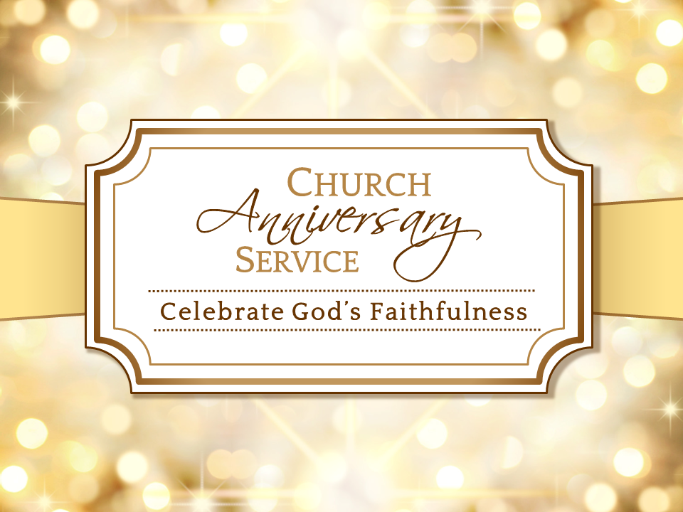 happy church anniversary quotes