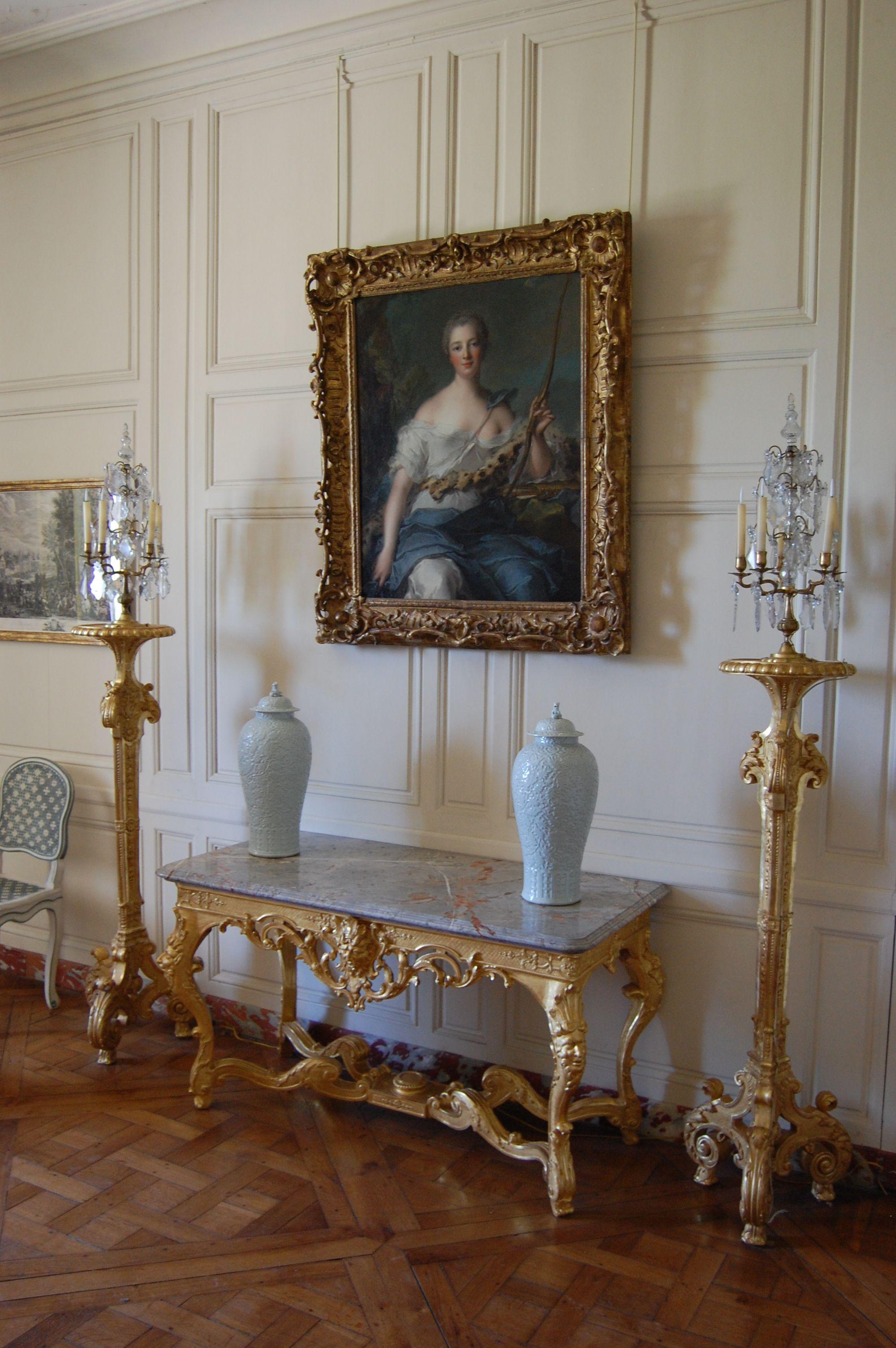 View of Madame de Pompadour's apartment (Palace of ...
