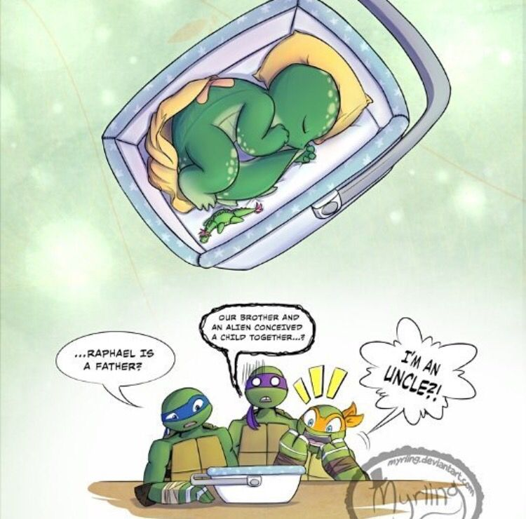 There are to many cute fan arts of Irrillia!!! TMNT | TMNT