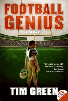 This is a great sports fiction book about a kid who can