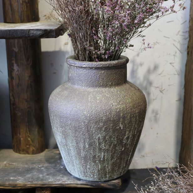 LRT has introduced high fired glaze rustic garden pots with deep penetrating color tones for a range of landscaping and decorative projects.