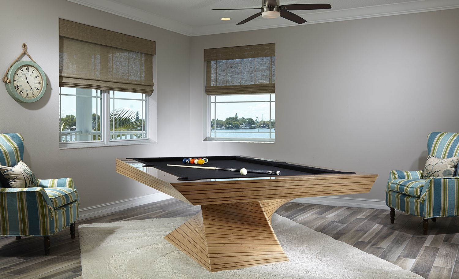 Game Room Ideas Modern pool table, Modern game tables