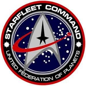 Star Trek The Next Generation Delta 30 x 50 Comm Badge Insignia Wall Banner