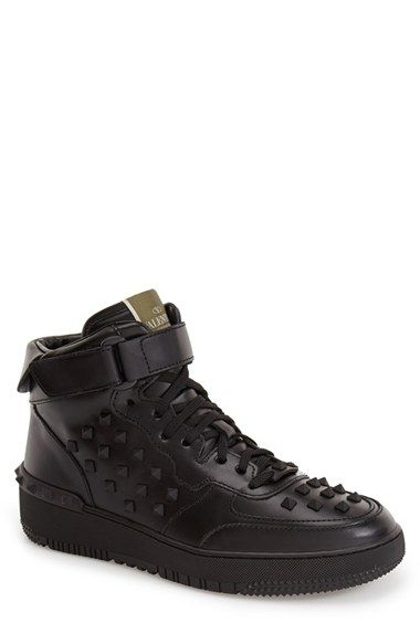 f3689431a7dab Valentino Studded High Top Sneaker (Men) available at #Nordstrom ...