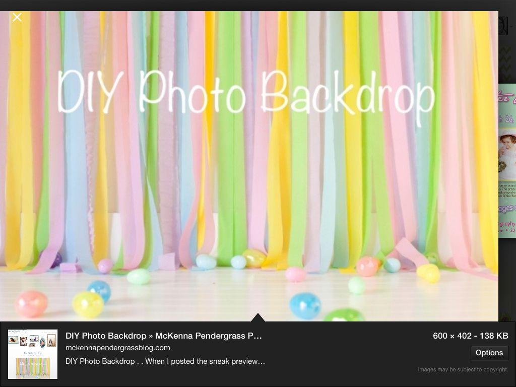 40 DIY Photo Booth Backdrop Ideas