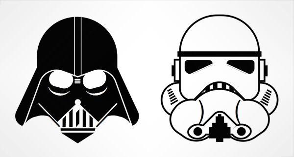 Vador Css3 Exemple Dark Vador Dessin Dessin Star Wars Et