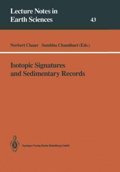 Isotopic Signatures and Sedimentary Records