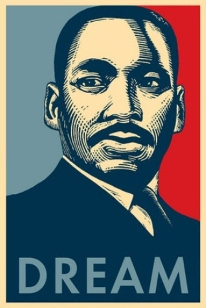 dr martin luther king jr posters