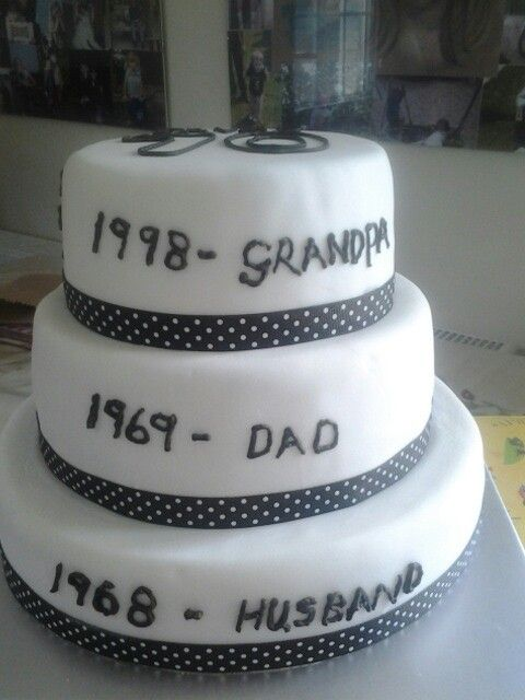 My Dad S 70th Birthday Cake Dad Birthday Cakes 80th Birthday