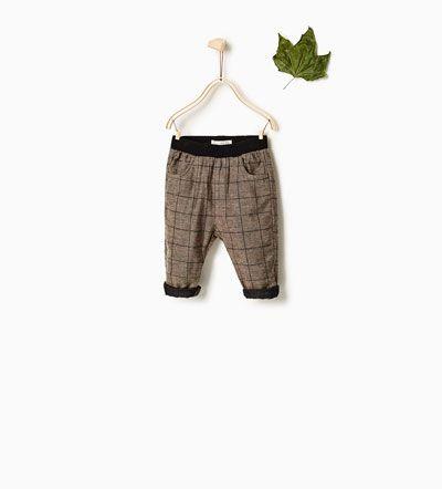 9d58fa9479f Καρό παντελόνι-ΝΕΕΣ ΚΥΚΛΟΦΟΡΙΕΣ-ΒΡΕΦΙΚΑ ΑΓΟΡΙ | 3 μηνών-3 ετών-ΠΑΙΔΙΚΑ |  ZARA ΕΛΛΑΔΑ