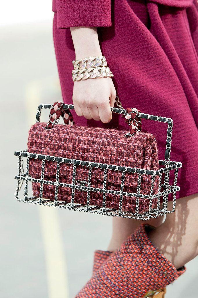 b43642f7f359 Chanel Fall 2014 | Handbags in 2019 | Fashion, Chanel, Chanel handbags