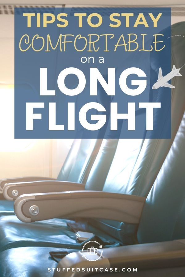 Tips to Survive a Long Flight (What to Wear and Pack)