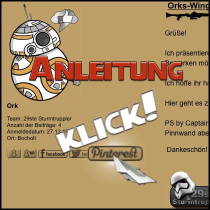 Orks-Wing : StarWars Klimbim  81647300421e3756fcc52541415711b8