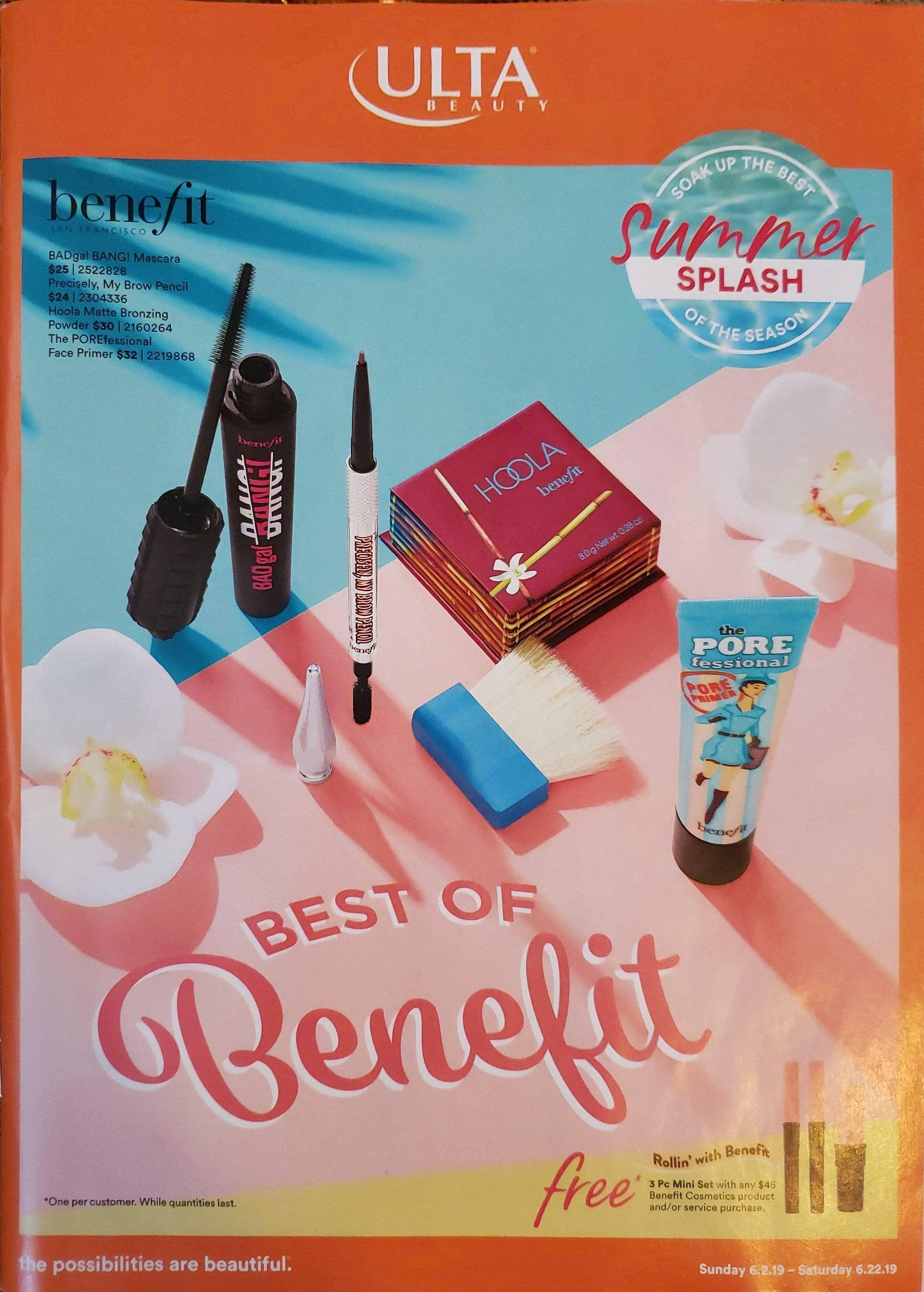 Full Scan Of The Newest Ulta Catalog 6 2 19 6 22 19 Muaonthecheap Ulta Skin Essentials Benefit Cosmetics