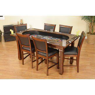 American Heritage Burlington 3 Craps Table Set Table Dining