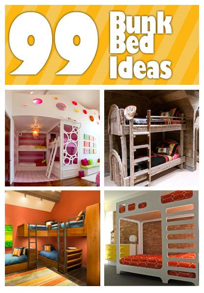 30 Cool and Playful Bunk Beds Ideas | Bunk bed, 30th and Bedrooms