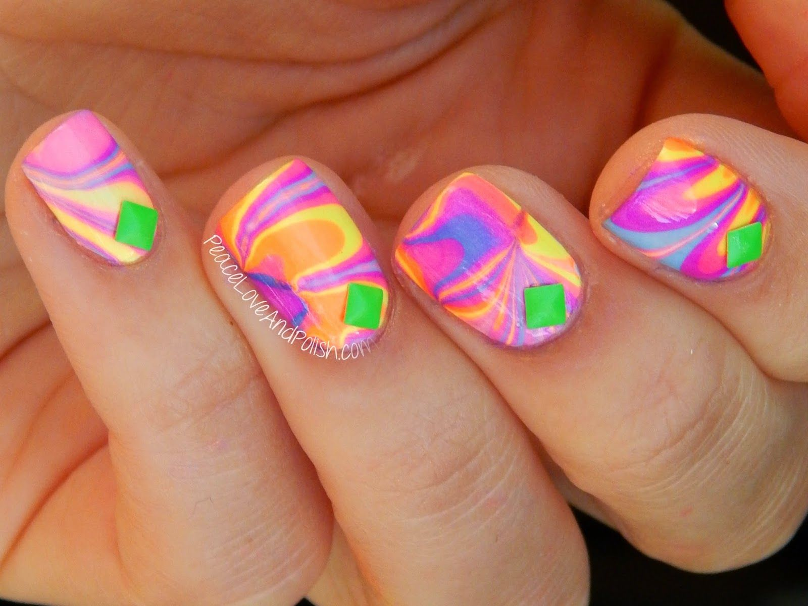 Peace, Love and Polish: The Digit-al Dozen Does Summer: Neon ...