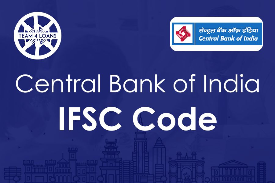 Central Bank Of India Ifsc Code With Branch Details Coding Bank Of India Personal Loans