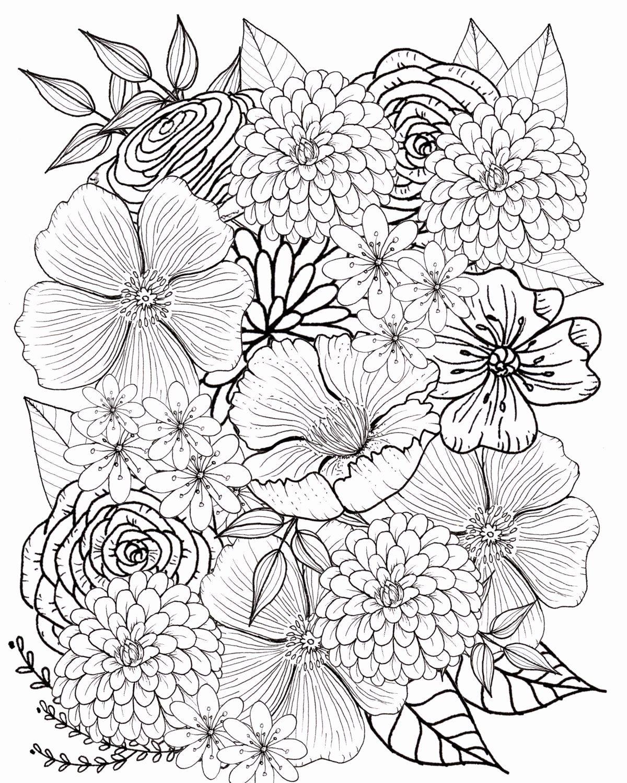 Nature Coloring Book Art Fresh Graffiti Coloring Book Elegant Pin Auf Copics Flower Coloring Pages Flower Drawing Coloring Pages For Grown Ups