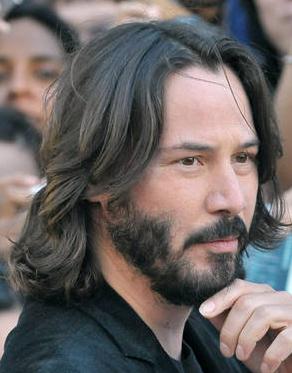 Matrix Actor Keanu Reeves Beard Haircuts Pinterest