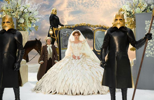 Oscars 2013: Costume design nominee Eiko Ishioka for Mirror Mirror.  Julia Roberts
