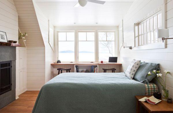 kleine schlafzimmer kreativ gestalten skandinavisches flair kleine schlafzimmer ideen - Kleine Schlafzimmerideen Mit Lagerung