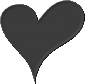 Black Heart Png Pic Heart Png Black And White Png Image With Transparent Background Png Free Png Images Black Heart Black And White Pics