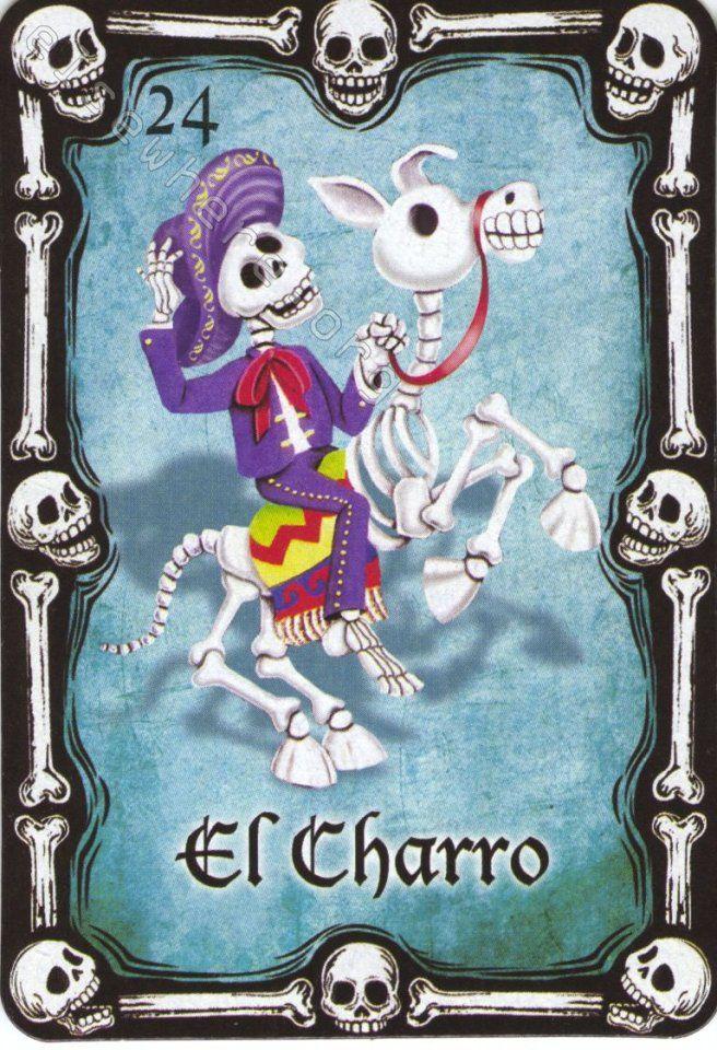 24 El Charro Marcos Dia De Muertos Arte Popular