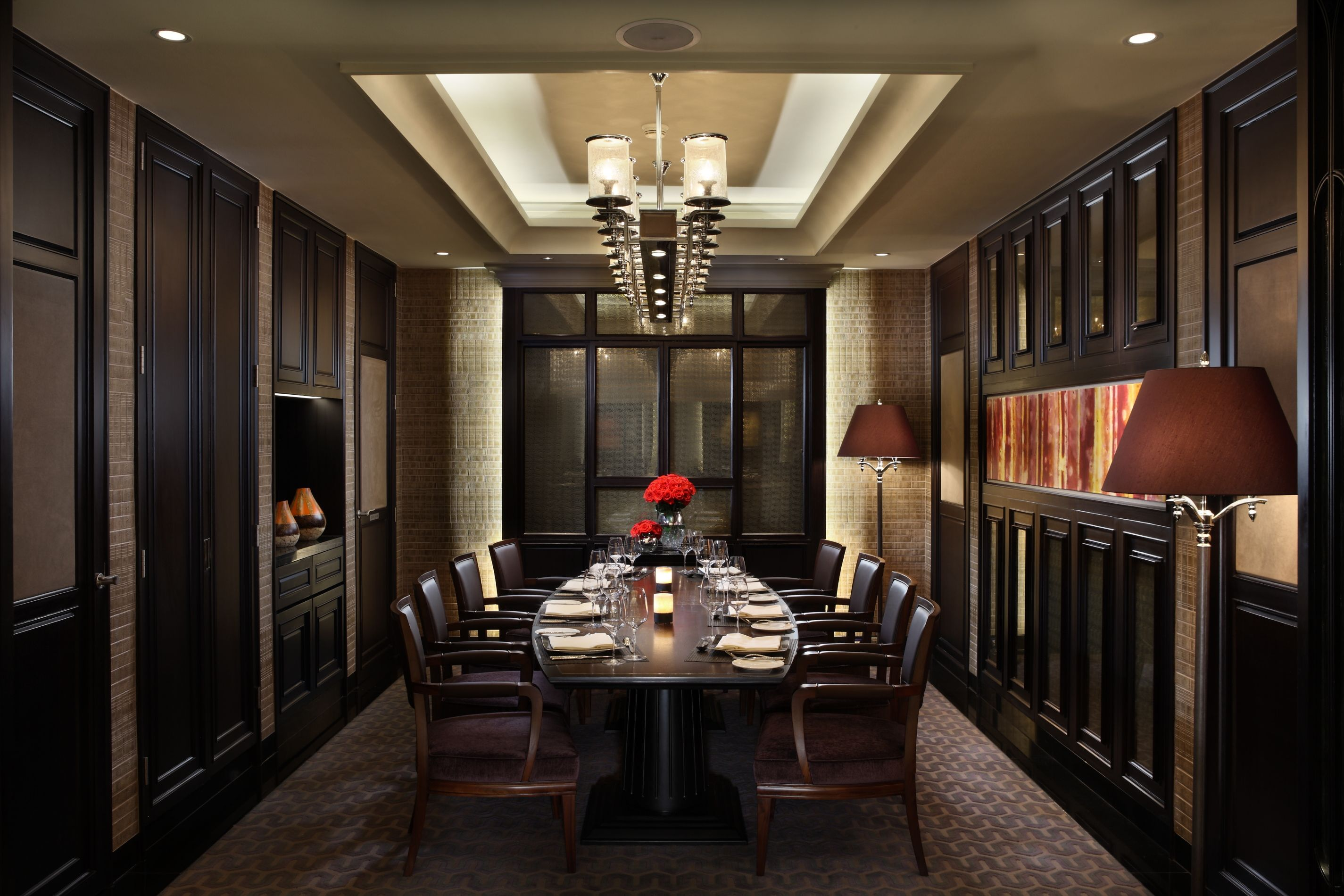 Tasting A Semi Private Dining Room 33 Sqms Is A Less Formal Area That Can Accommodate Up To 8 People Private Dining Room Dinning Room Private Dining