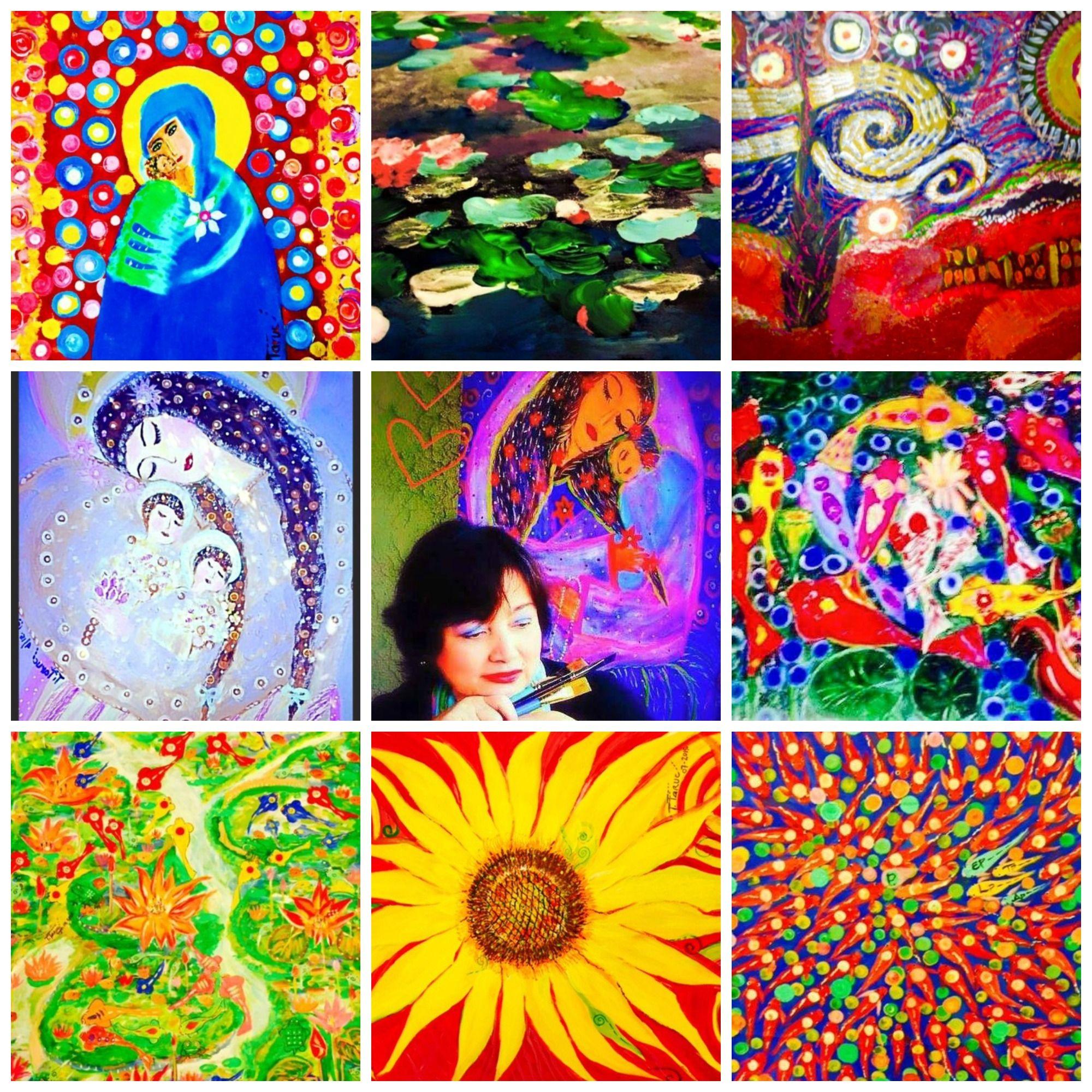 """Tiinz"" Taruc Impressionistic Art Philippine art"