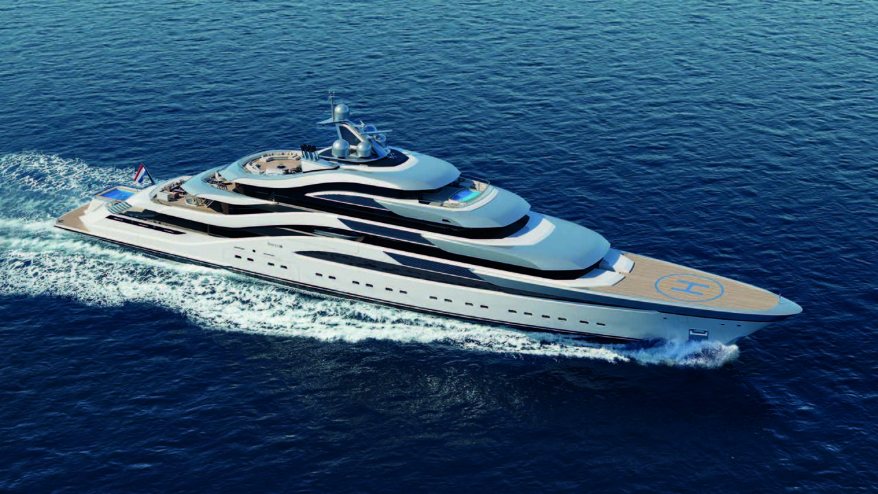 Amels And H2 Yacht Design To Unveil 111 Metre Concept In Monaco