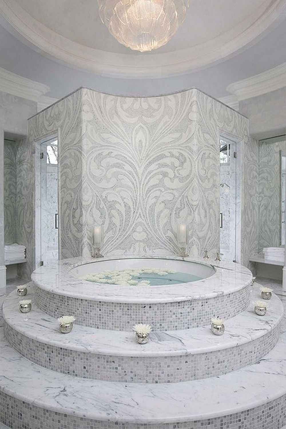awesome 125 Fancy Modern Tub Bathroom Decor Ideas https://homedecort ...