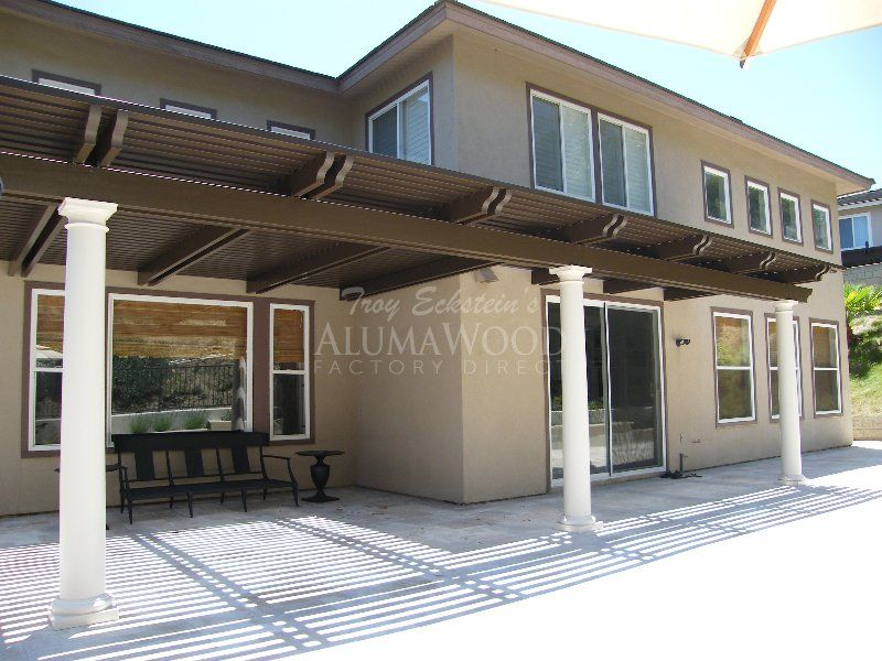 High Quality Alumawood Patio Cover Tuscan Style 24   Alumawood Factory Direct Patio  Covers