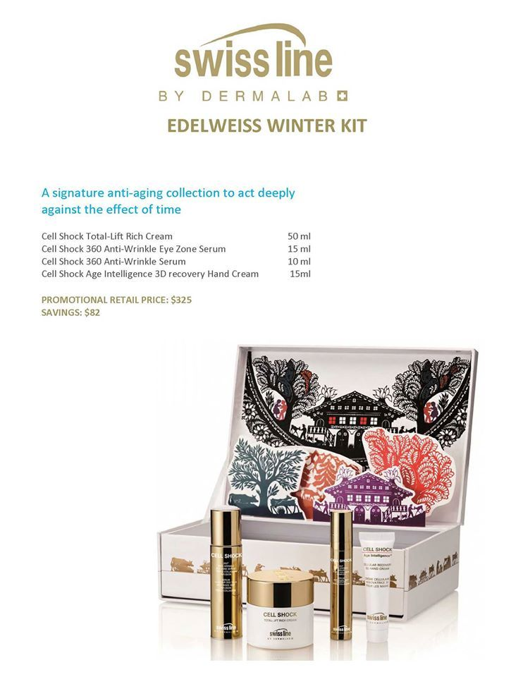 Swiss Line has come out with the Edelweiss Winter Gift set