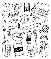 ustensile de cuisine dessin recherche