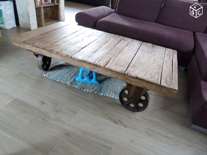 Table Basse Chariot Sncf Ameublement Morbihan Leboncoin Fr Ameublement Table Basse Deco