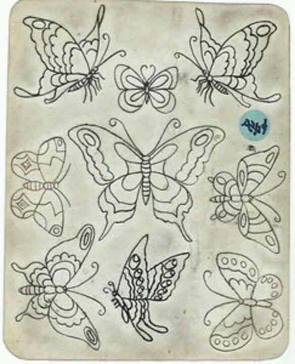 Old school butterfly