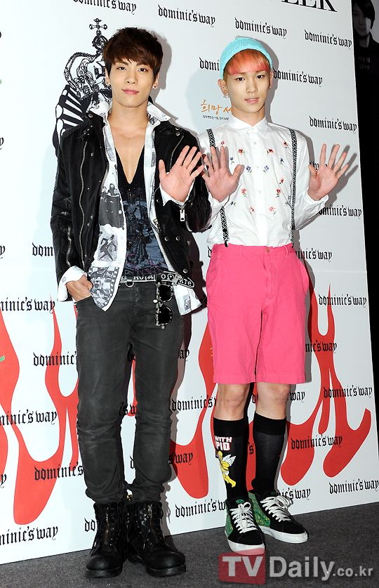 Jonghyun & key at seoul fashion week | Jongkey ❤ | Shinee